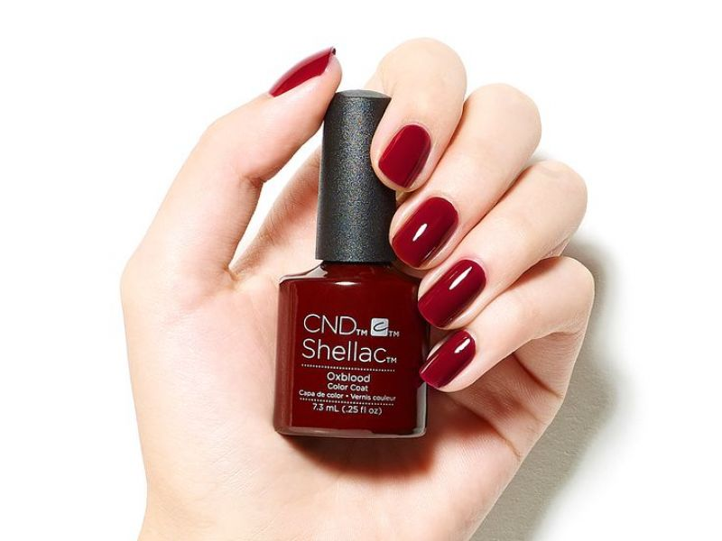 Photo of CND Shellac Fingers Colour