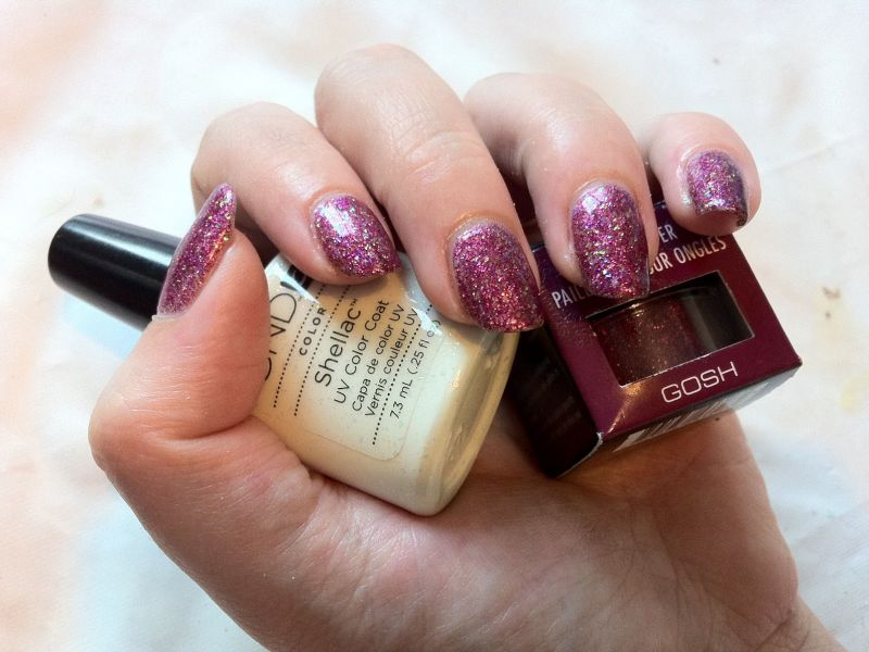 Photo of CND Shellac Fingers Rock Star Nails