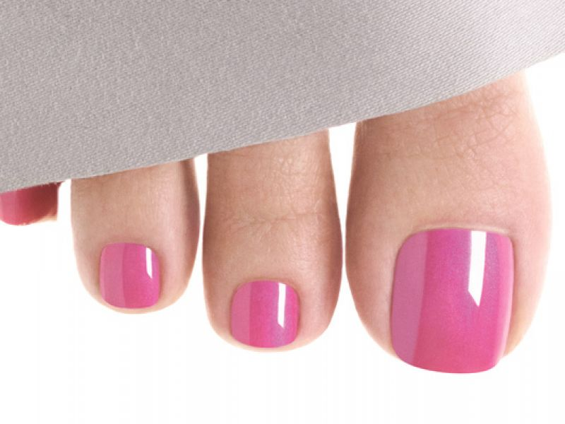Photo of CND Shellac Toes Colour