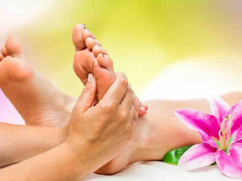 Photo of Reflexology Session